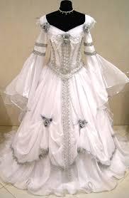 wedding dress costume silver wedding dress silvery dreams