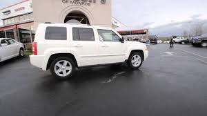 white jeep patriot 2010 jeep patriot limited stone white clearcoat ad615045
