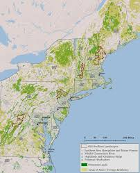 Northeast Map Osi Resilient Landscapes Initiative Open Space Institute