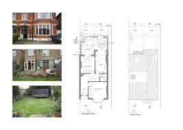 Semi Detached Floor Plans by Floor Plans For House Extension Dream House Extensions Plans 30