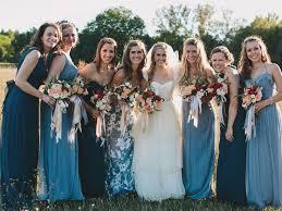 bridesmaids wedding dresses best 25 patterned bridesmaid dresses ideas on