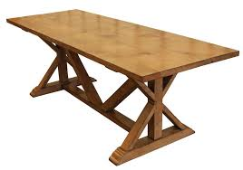 Refectory Dining Tables Country Trestle Refectory Dining Table U2013 Mortise U0026 Tenon