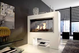 Electric Fireplace Wall by Double Sided Electric Fireplace Wall U2014 Home Ideas Collection
