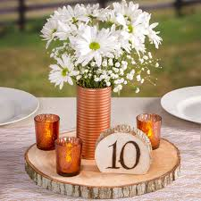 rustic center pieces rustic wood slice charger for centerpieces wedding center pieces