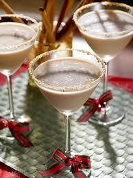 eggnog martini recipe 27 holiday drink recipes your guests will love hgtv