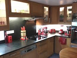 cuisine ardoise et bois entretien plan de travail bois cuisine dosseret cuisine ardoise