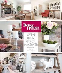 living room refresh better homes u0026 gardens challenge how to