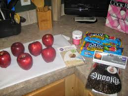 halloween candy apple sticks diy project jolly rancher candy apples life of a busy mommy