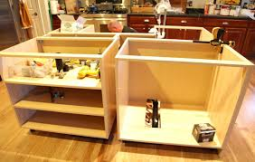 how to install kitchen island cabinets kitchen island base cabinet ing s diy kitchen island base cabinets
