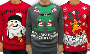 ugly holiday sweaters groupon goods