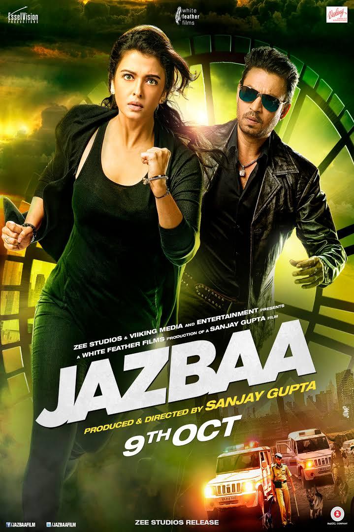 Download Jazbaa (2015) Hindi Movie DVDScr