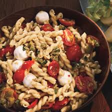pasta salda pasta salad with cherry tomatoes and green olivada recipe