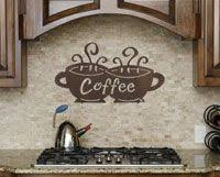 Coffee Wall Decor For Kitchen Best 25 Coffee Theme Kitchen Ideas On Pinterest Coffee Kitchen