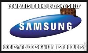 Samsung Meme - image 647675 samsung vs apple know your meme