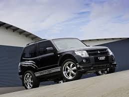 view of mitsubishi pajero photos video features and tuning of