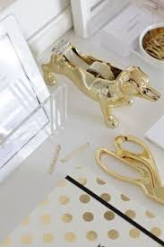 gold desk accessories target glam up your office with these beautiful gold accessories from nate