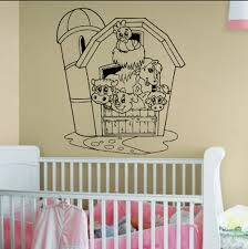 new products country chic decals a1708 barnyard farm animals vinyl wall decal sticker graphic