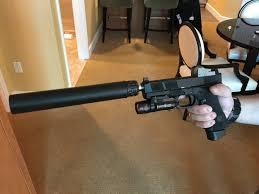 glock 19 light and laser nous defions arsenal democracy blackside suppressed glock 17 22 g17
