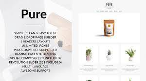 pure clean and minimal wordpress theme themes u0026 templates