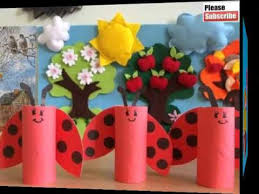 Paper Roll Crafts For Kids - toilet paper roll crafts for kids easy beautiful handmade set of