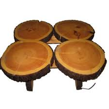 coffee table custom pine tree trunk coffee side table aptdeco and