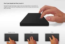 disque dur externe bureau float le disque dur externe devient un pavé tactile ginjfo