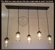 Rectangular Chandelier Mason Jar Chandelier Light Rectangular With Vintage U2013 The Lamp Goods