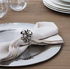 crate and barrel napkins crate barrel napkin rings and holders ebay