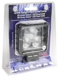 grote led trailer lights 64h01 5 grote select led flood light