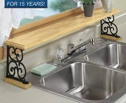 Floating Sink Shelf by Kitchen Countertop Kitchen Sink Intention White Farmhouse