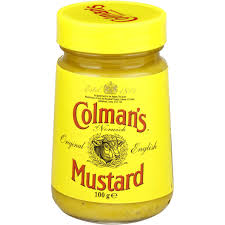 coleman s mustard colmans ingredients mustard 100g woolworths