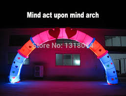 Wedding Arch For Sale Aliexpress Com Buy Varies Designs Inflatable Led Lighting Arch