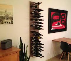 astounding decorative wall wine rack amazing hanging sosfund