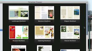 mac brochure templates use pages on macs to create a phlet view description