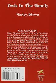 amazon com owls in the family 9780440413615 farley mowat books