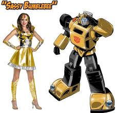 Bumblebee Transformer Halloween Costume 18 Weirdest U0027sexy U0027 Halloween Costumes Based Comics
