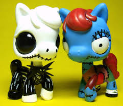 zero from nightmare before custom lps by thatg33kgirl on