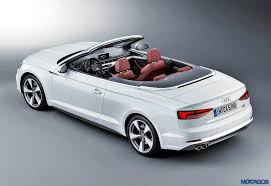 audi a5 modified new 2017 audi a5 and s5 cabriolet revealed official images