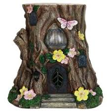 Solar Garden Ornaments Outdoor Decor Young Boy Gnome Holding A Mushroom Garden Statue Reviews 24