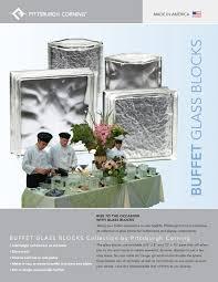 new to the scene buffet glass block glass block blogger