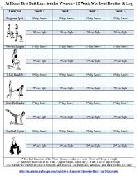 best workouts for free printable 12 week workout