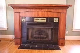 gas fireplace with mantel binhminh decoration