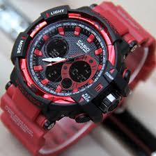 Jam Tangan G Shock jual jam tangan g shock gwa 1100a tali merah