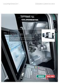 sprint 50 dmg mori pdf catalogue technical documentation