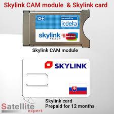 ready prepaid card skylink ready irdeto ci module skylink card pre paid for 12