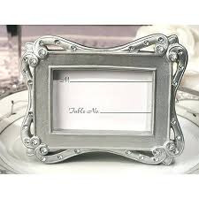 discount wedding supplies discount wedding favors in bulk stylish silver place card frame