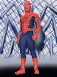 learn draw spiderman standing spiderman step step