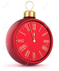 happy new year alarm clock countdown bauble