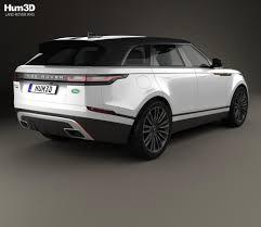 range rover drawing land rover range rover velar 2018 3d model hum3d
