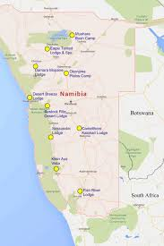 Kalahari Desert Map Top Ten Unusual Places To Stay In Namibia The Luxury Couple